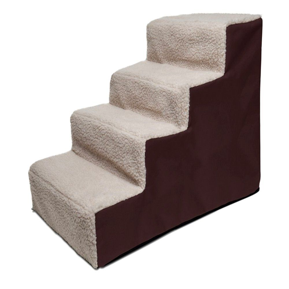 Phenomenal Pet Step Stool For Bed 4Step Portable Ladder For Dogs And Dailytribune Chair Design For Home Dailytribuneorg