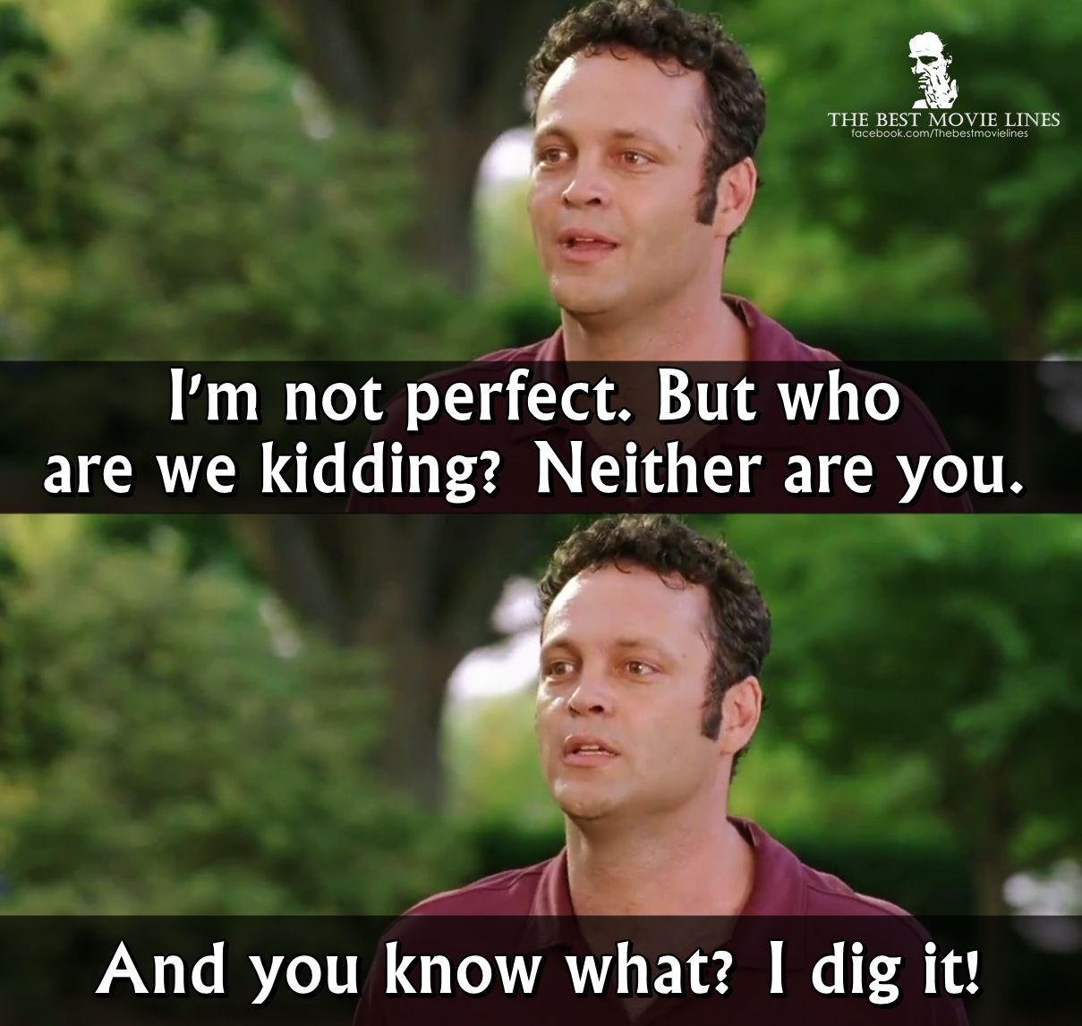 Vince Vaughn Wedding Crashers Hookup Quote