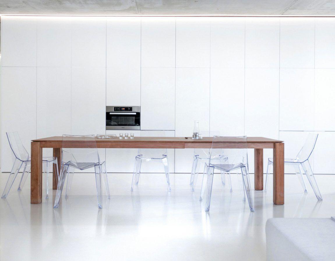 cuisine escamotable table manger bois massif rangements muraux