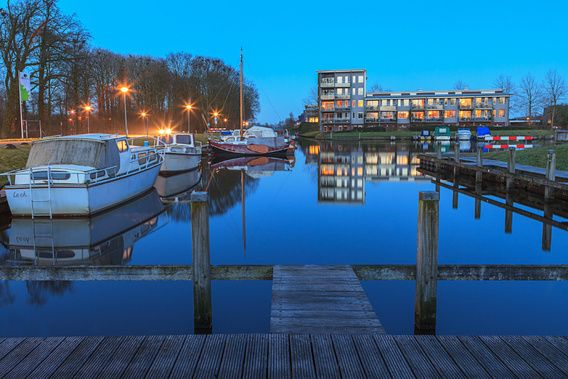 Haven Leek Groningen Netherlands
