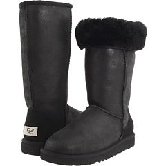 UGG - Classic Tall Bomber (Bomber Jacket Black) - Footwear, $200.00   www.findbuy.co/store/zappos-com #UGG