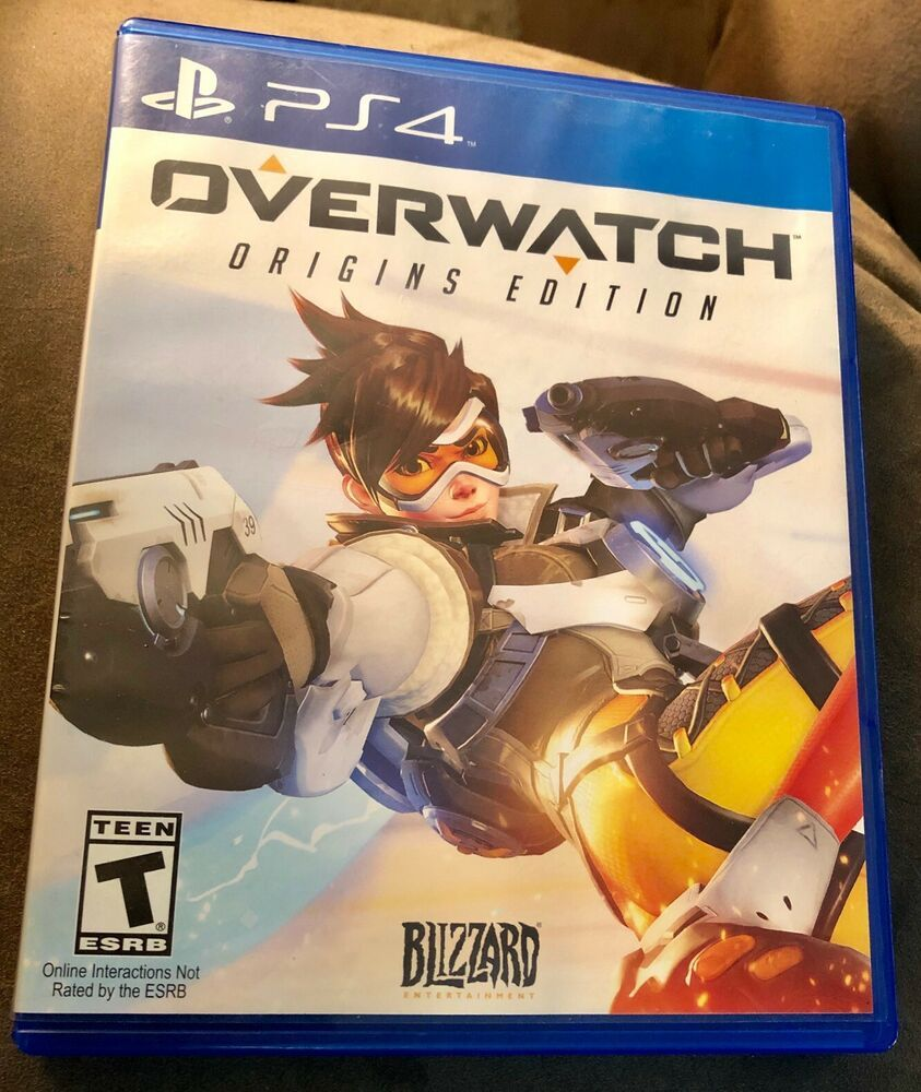 PS4 OVERWATCH Origins Edition Playstation 4 Game FREE