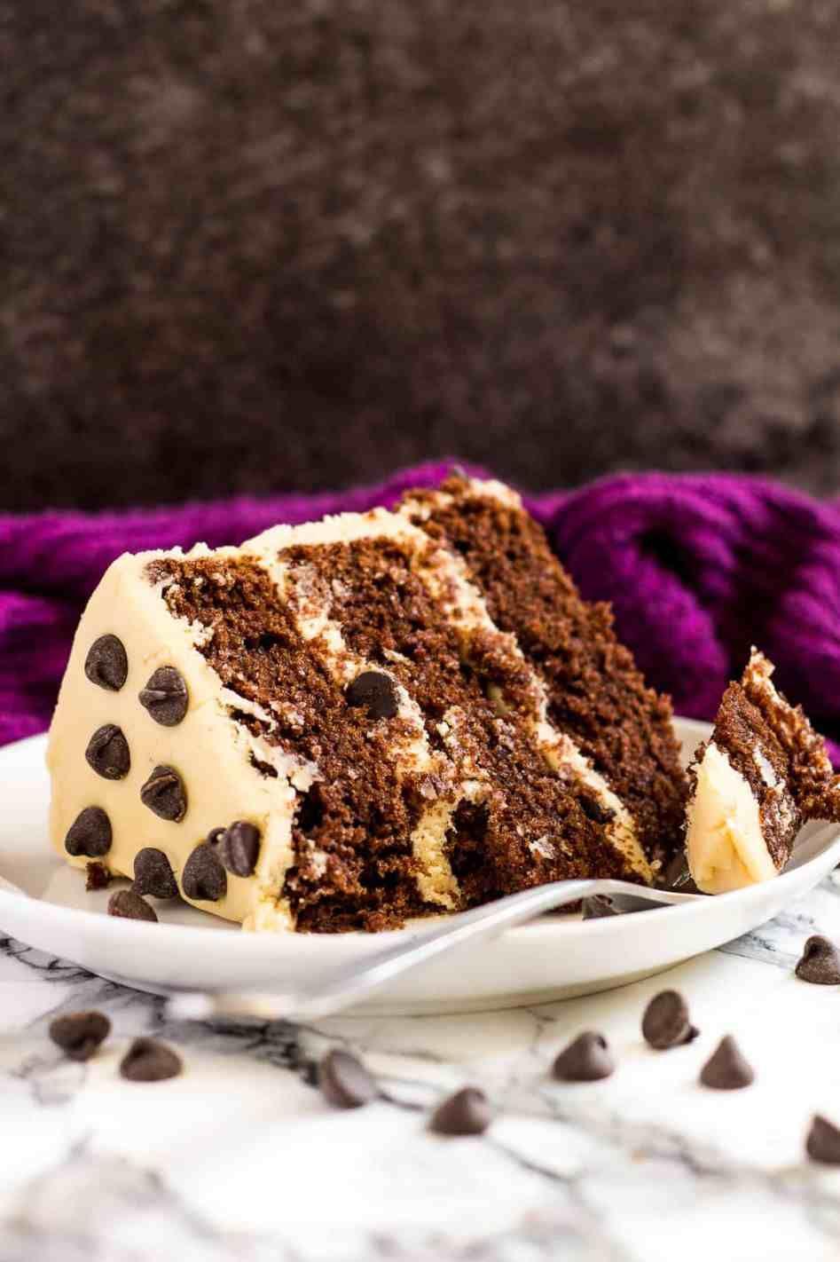 MOCHA LAYER CAKE Mocha cake, Layer cake, No bake cake