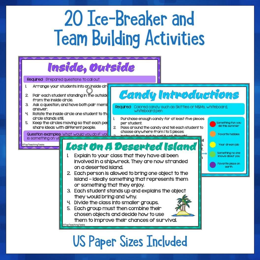 Team Building Activities | Top Teaching Tasks | Team