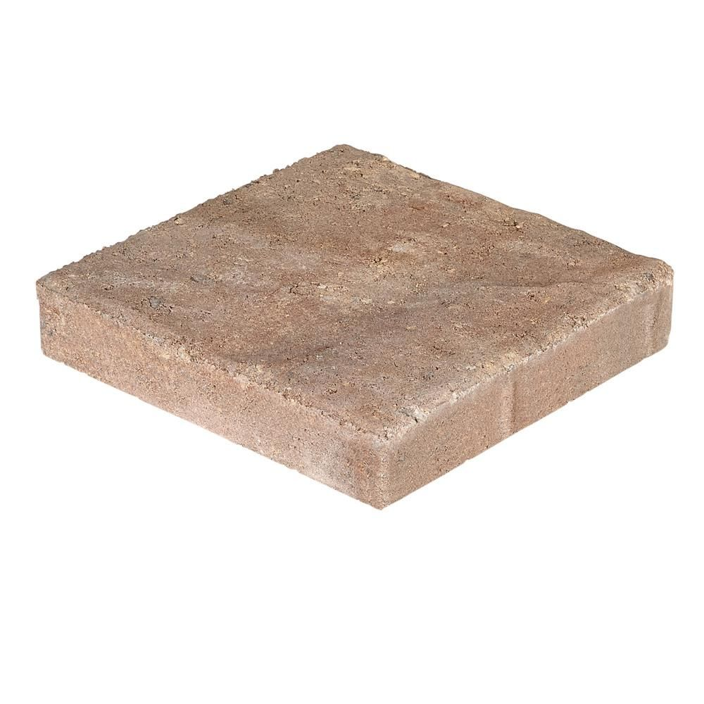 7937c360e8fc Pavestone Panorama Supra 3-pc 15.75 in. x 15.75 in. x 2.25 in. Sierra Blend  Concrete Paver (60 Pcs.   103 Sq. ft.   Pallet)-36877 - The Home Depot