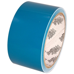 Tape Planet 3 Mil 2 X 10 Yard Roll Teal Outdoor Vinyl Tape Vinyl 10 Things Small Letters