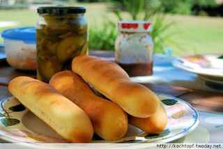 New England Hotdog Brötchen