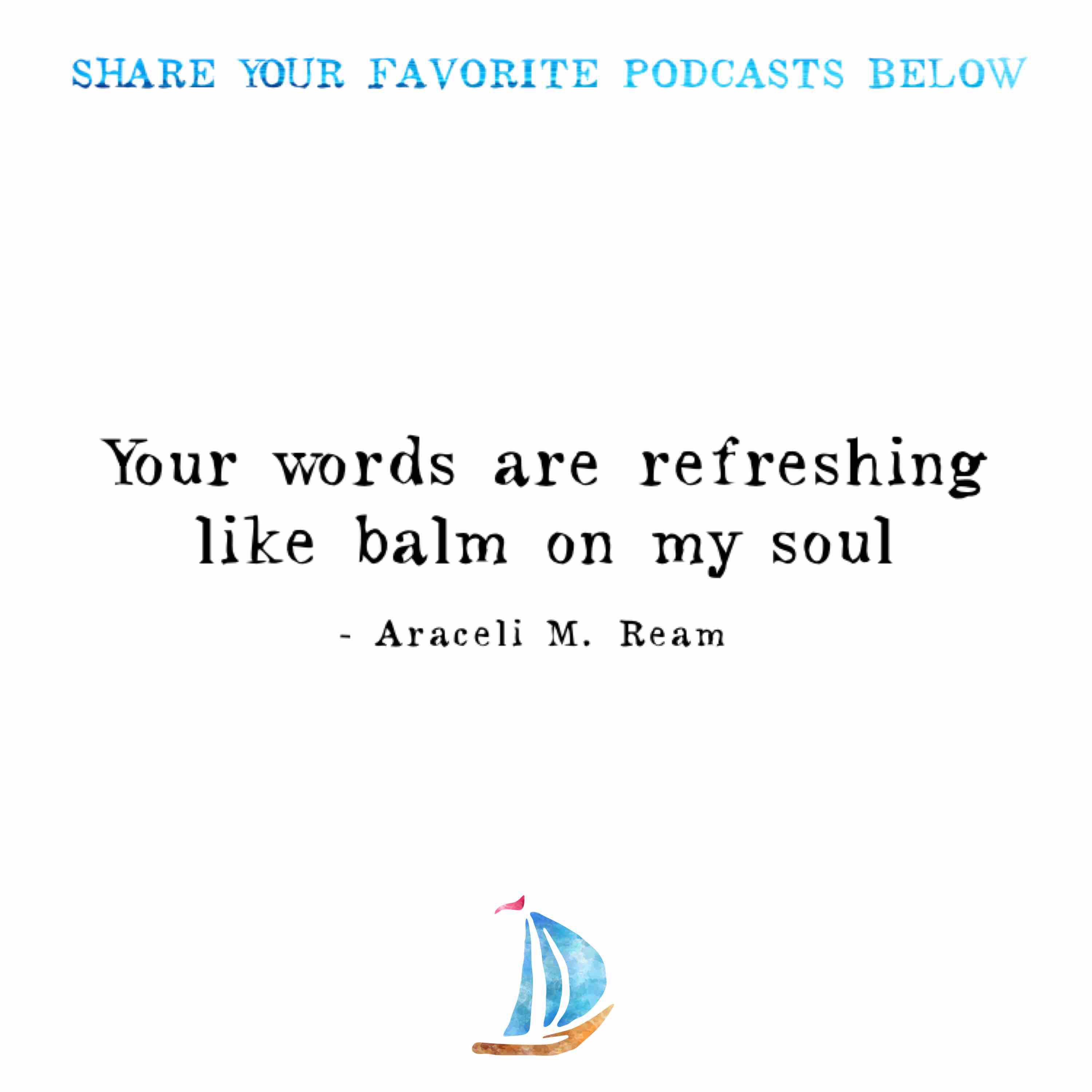 Image result for quotes about listening to podcasts