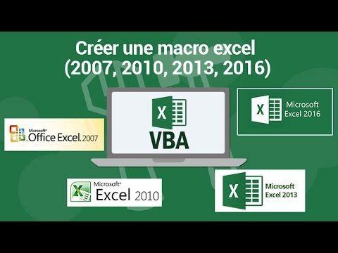 Creer Une Macro Excel 2007 2010 2013 2016 Chiffre En Lettre