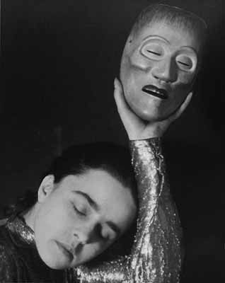 Henri Berssenbrugge, Wy Magito met masker, ca. 1926