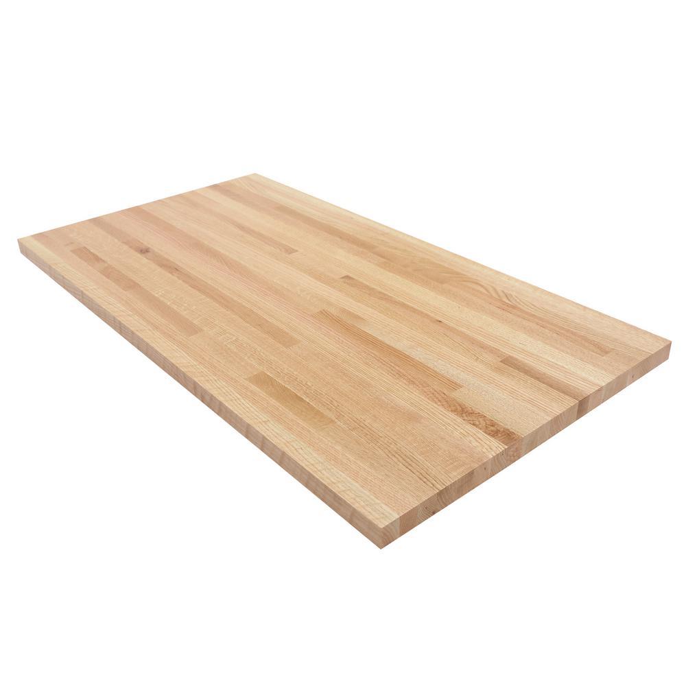 Swaner Hardwood 4 Ft L X 2 Ft 1 In D X 1 5 In T Butcher Block