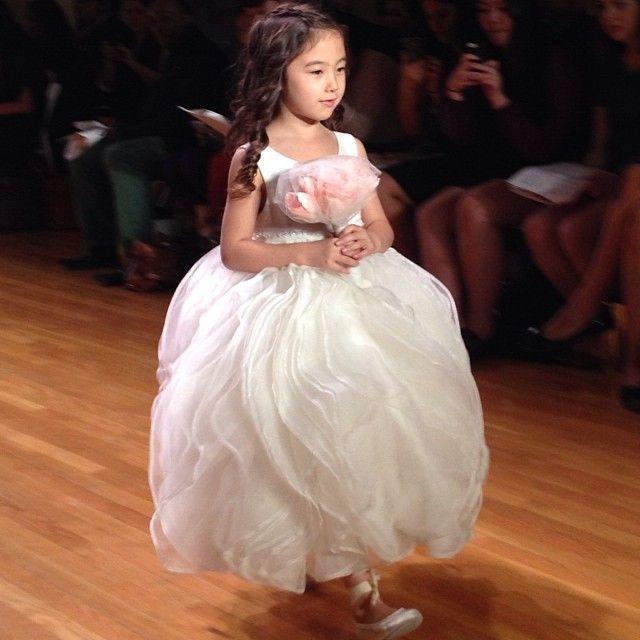 Bridal Runway Shows: 10/11 Recap   Flower girl dresses, Girls ...