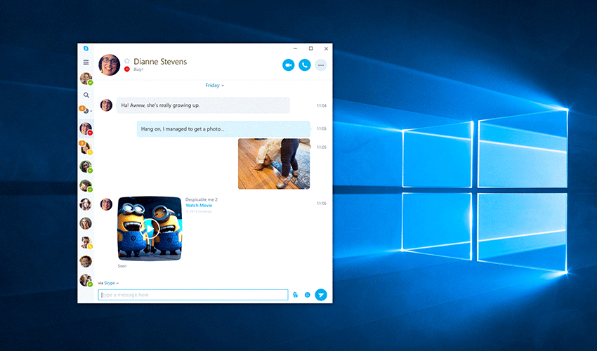 Skype To Release Universal Windows Platform App Preview