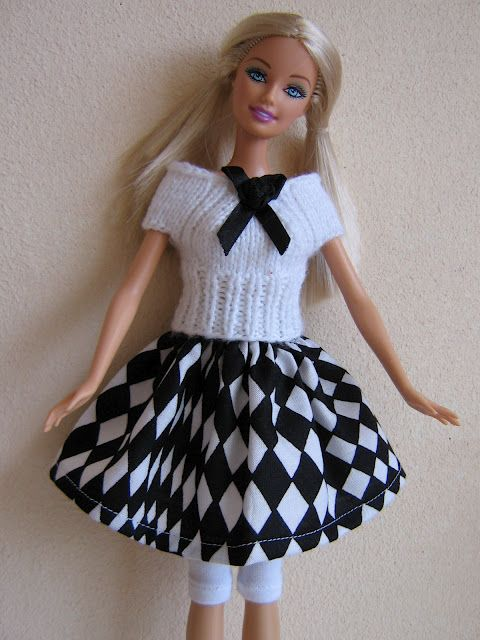 barbie clothes knitting and crochet ideas | Barbie | Pinterest ...