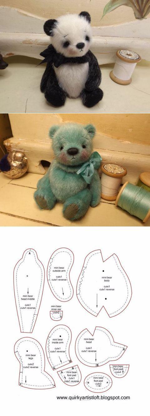 мишки Тедди | Bären, Kuscheltiere und Puppen