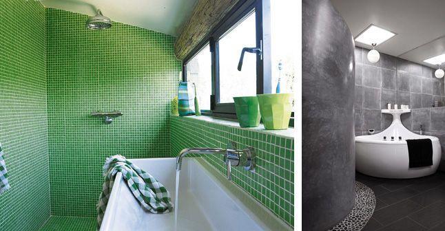 Carrelage salle de bains, mosaïque salle de bains  6 photos pour - mosaique rose salle de bain