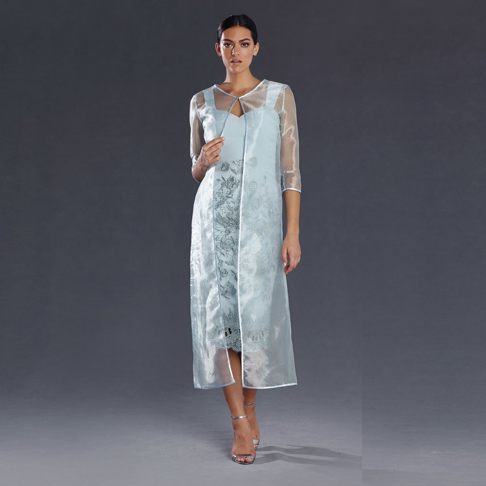 Jadore Mother Of the Bride 2 pcs Dress June M1005 in Dove, Champagne ...
