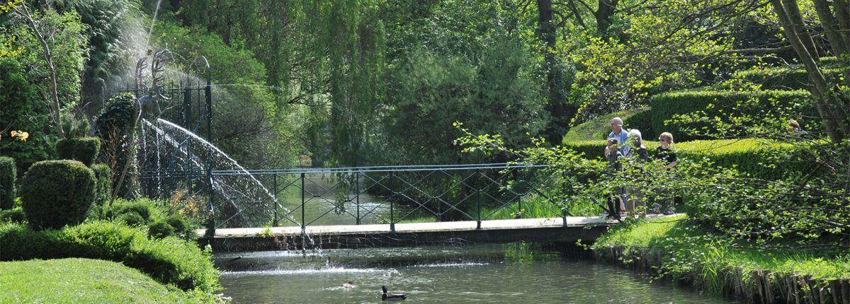 Château de Vendeuvre - Les Jardins d'eau surprise
