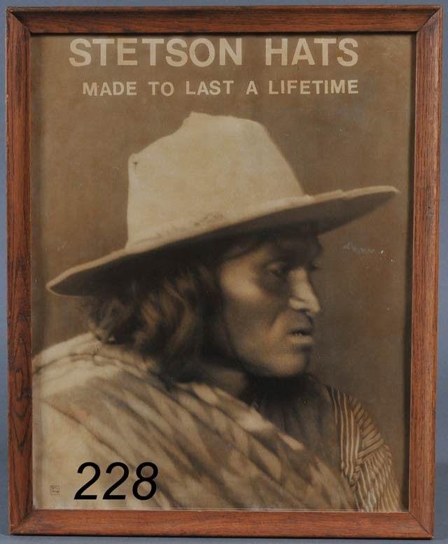 228  CARL MOON Stetson Hats 20