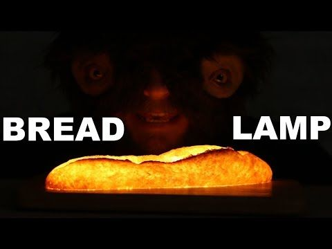 A beast of a maker premiers on YouTube with a baguette mood light