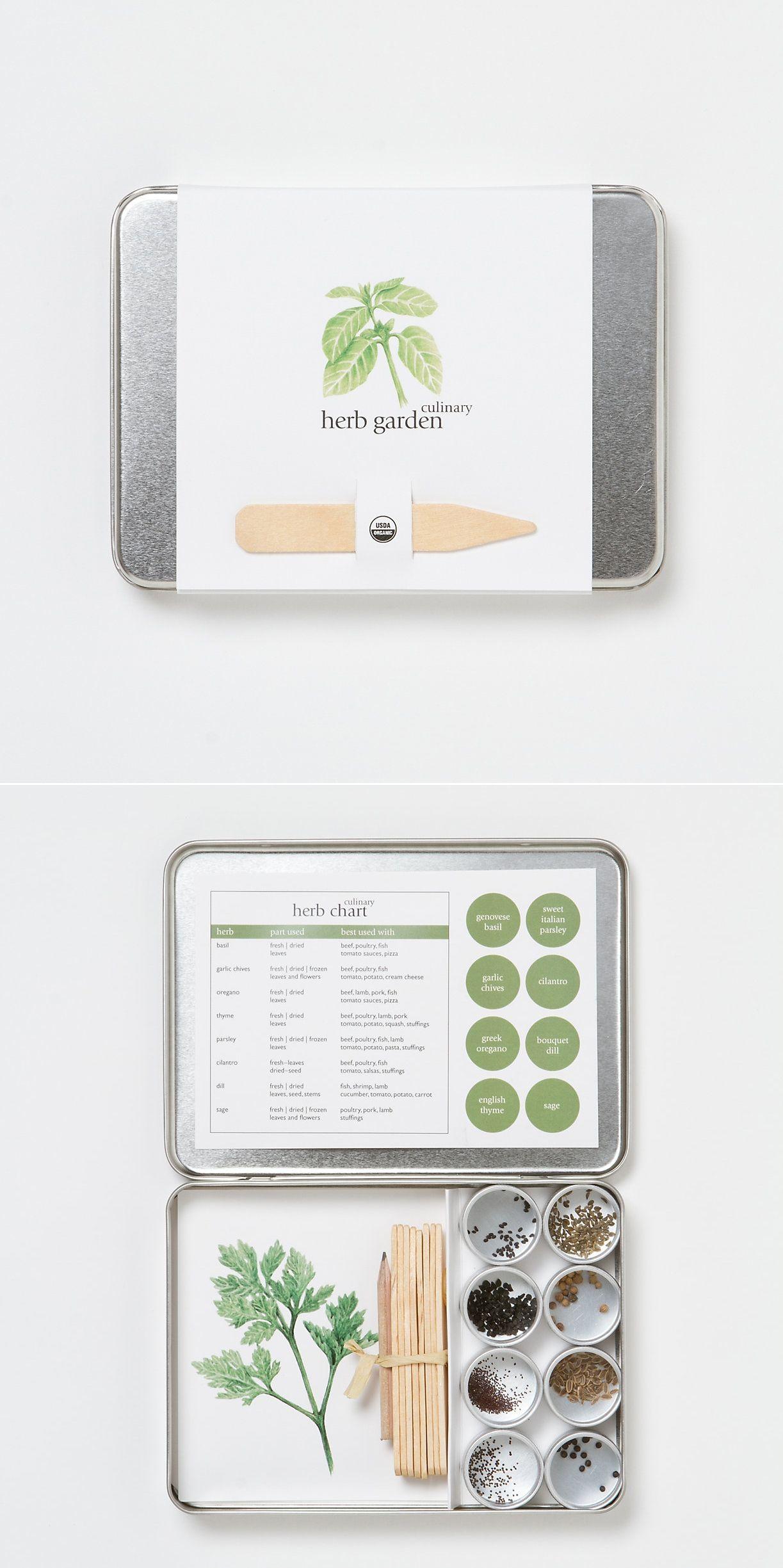 Beau Organic Herb Garden Kit By Terrain