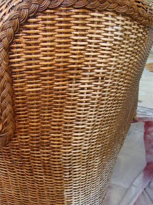 Staining Wicker With Minwax Polyshades