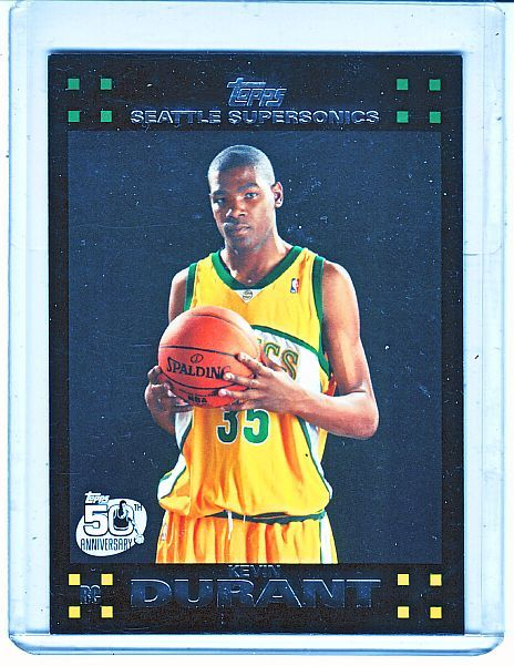 Kevin Durant Rookie Card Collector Revolution Basketball