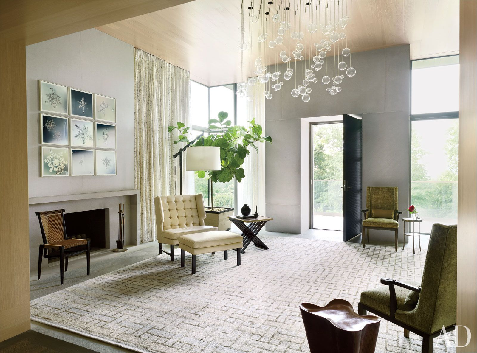 McAlpine Booth & Ferrier Interiors Frist Residence - McAlpine Booth & Ferrier Interiors