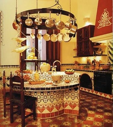 Mexican style kitchens cocinas rusticas mexicanas de for Decoracion de casas rusticas mexicanas