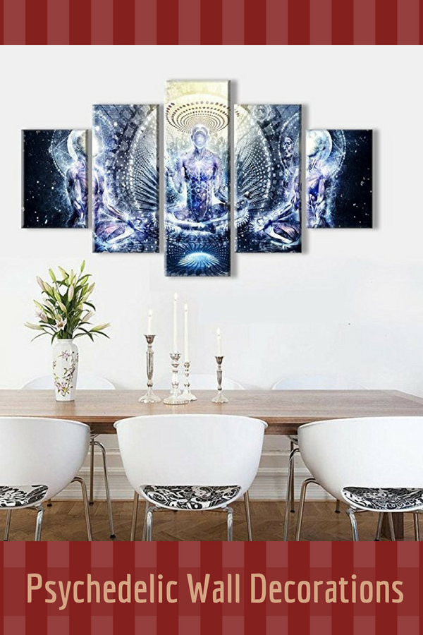 Captivating Unique And Funky Psychedelic Wall Art Home Wall Art Decor Buddha Home Decor Home Decor Wall Art Decor