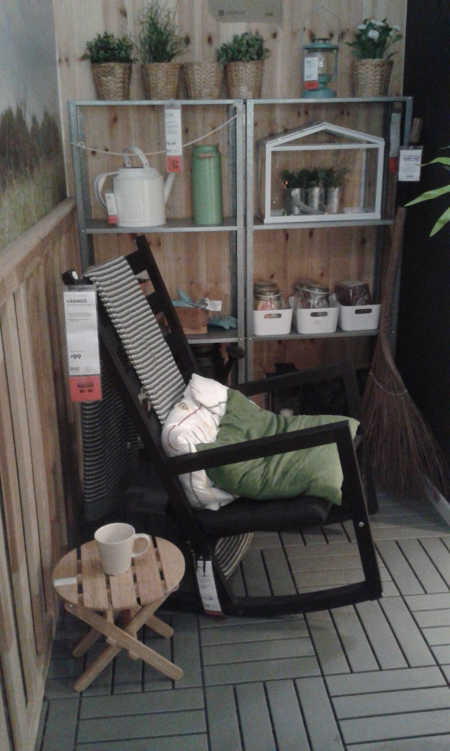 veranda e sedia a dondolo IKEA Sedia a dondolo, Ikea