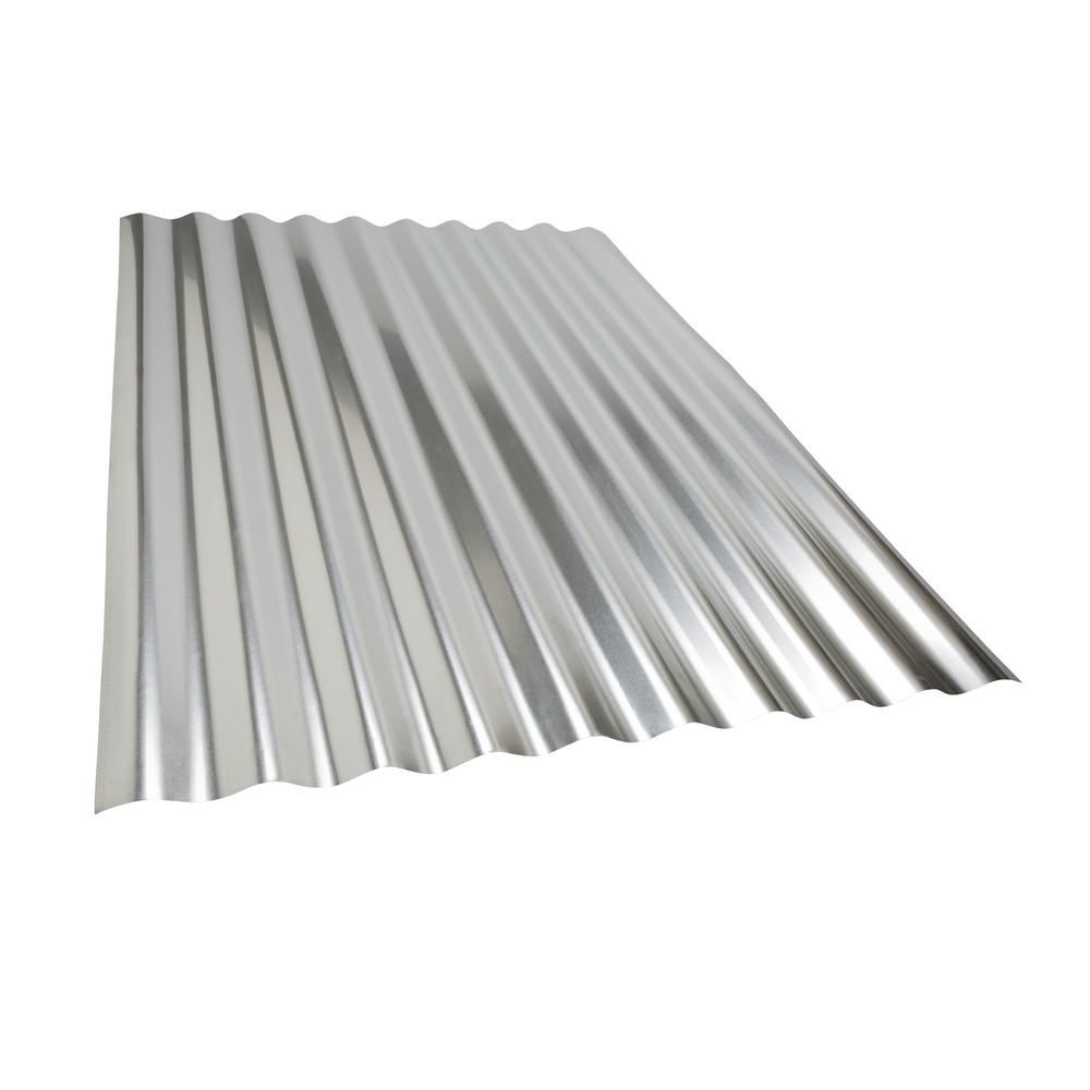 Project Panel Corrugated 3 Ft Galvanized Steel Roof Panel Steel Roof Panels Corrugated Metal Roof Roof Panels