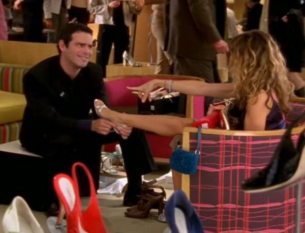 My love Andy Cohen in one of his two appearances on ~ Sex and the City