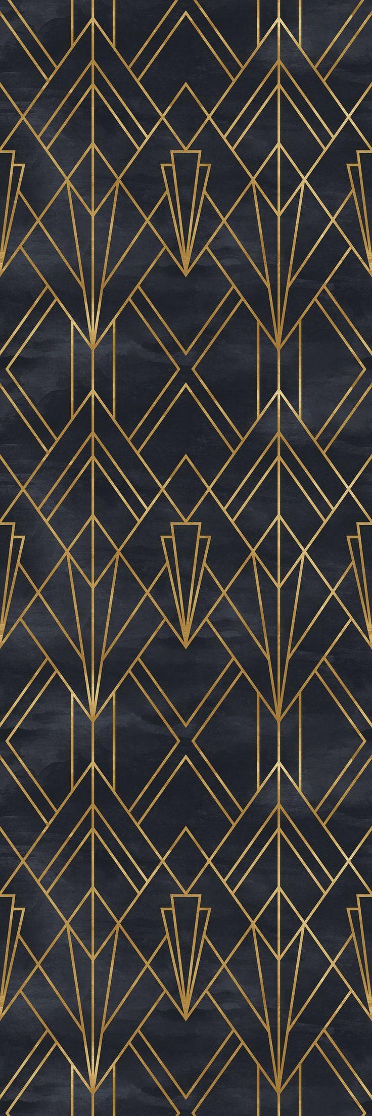 Abnehmbare Tapete Selbstklebende Tapete Gold Und Schwarz Geometrische Peel Stick Tapete Abneh Wohnzimmer Tapeten Ideen Abnehmbare Tapete Tapeten Wohnzimmer