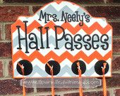 Photo of Wooden Door Hangers for Holidays & Special Events by SparkledWhimsy
