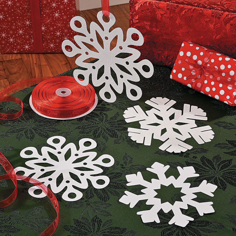 DIY+Snowflake+Cut+Outs+Idea+-+OrientalTrading.com | Paper Crafting ...