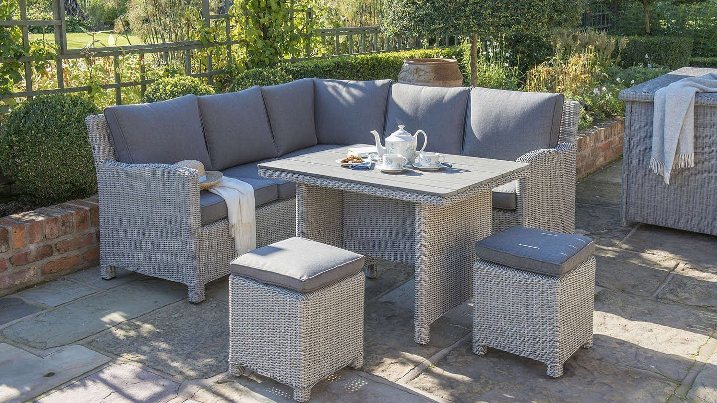 The best rattan garden furniture  Garden sofa set, Rattan garden