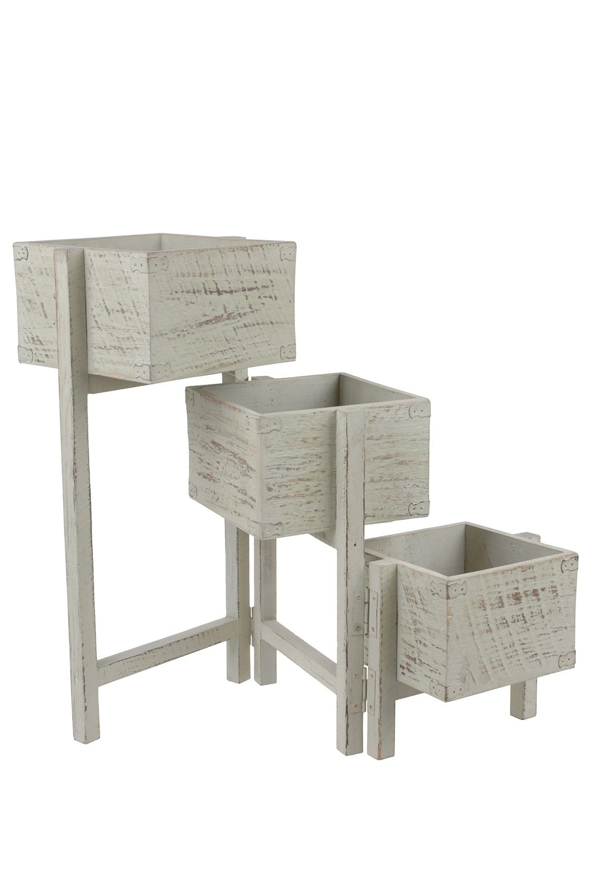 Western Red Cedar Wood TwoTier Plant Stand The by MadeInFarmington ...