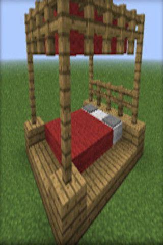 Minecraft Canopy Bed Hahahaha Minecraft Canopy Bed Projects