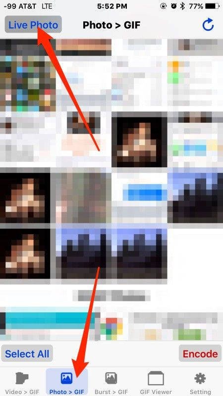 Live photos conversion to animated gif tips pinterest app live photos conversion to animated gif negle Choice Image