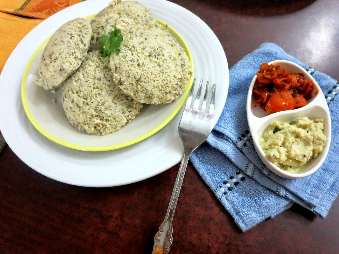 Sprouted Moong Dal Idli Recipe Indian food recipes