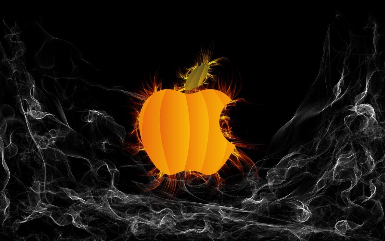 Apple Halloween Wallpaper Halloween Wallpaper Apple Logo Wallpaper Apple Watch Wallpaper