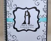 Personalized Wedding Planner- Custom Wedding Planning Book-Engagement Gift