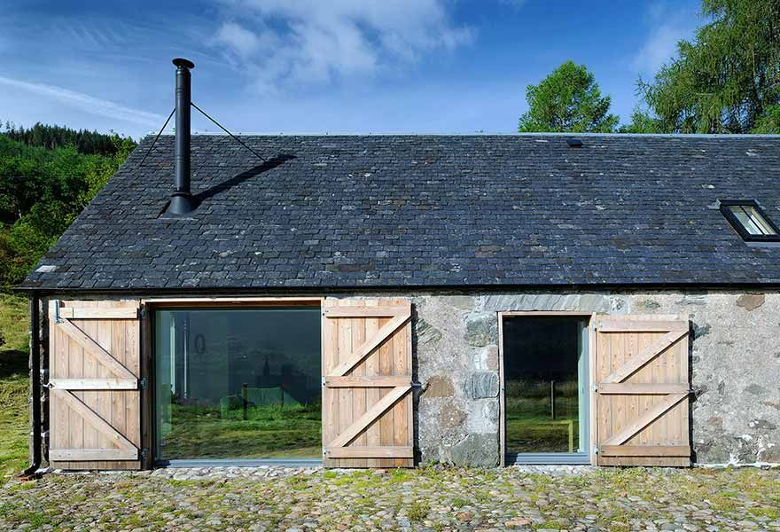 Barn again: beautifully restored and modernised farm building