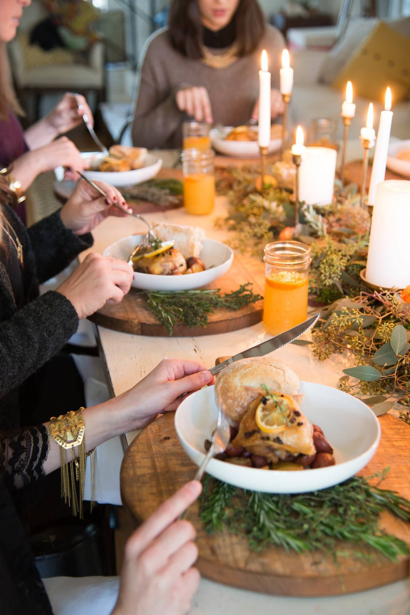 Winter Dinner Party Menu Ideas Part - 50: A Winter Dinner Party