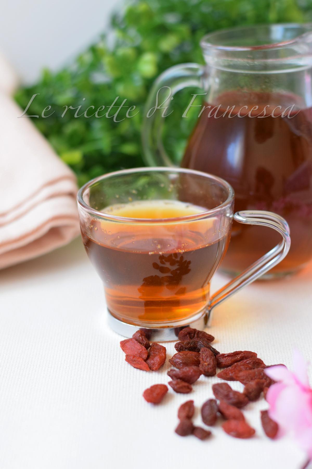 Tisana Alle Bacche Di Goji Salute Tisane Ricette