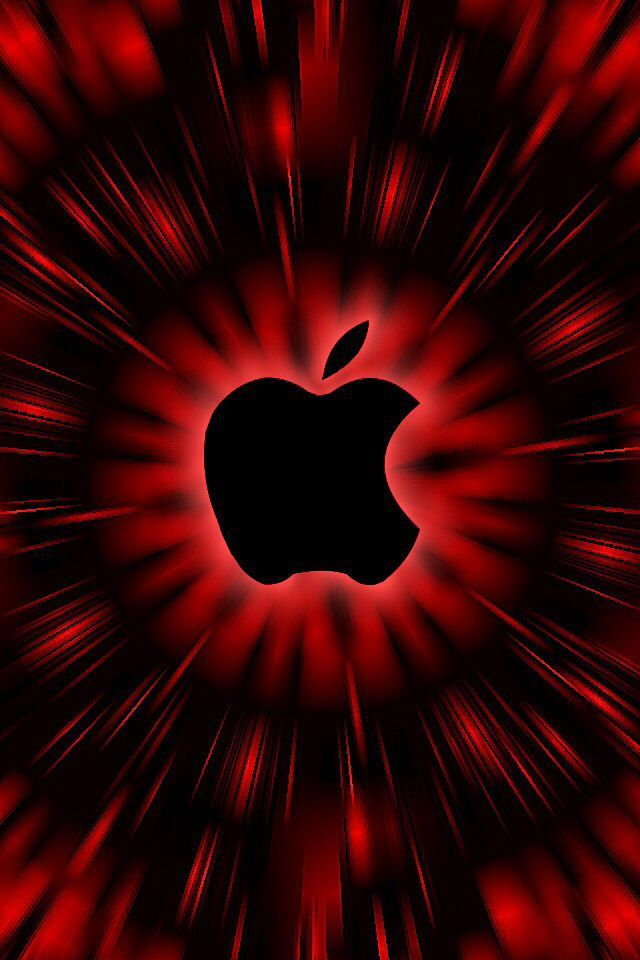 Pin By N K On Black Red Apple Logo Wallpaper Apple Logo Wallpaper Iphone Nature Iphone Wallpaper