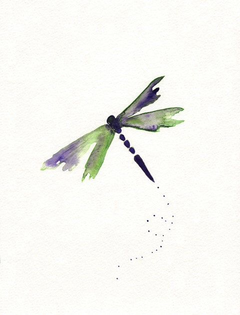 Pin de Bailey Kappler en dragonfly | Pinterest | Libélulas, Acuarela ...