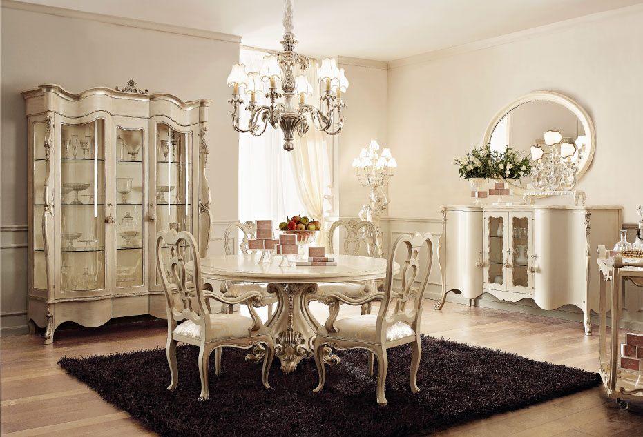 Italian Luxury Dining Room Wood Furnitureandrea Fanfani Italy Custom Luxury Dining Room Furniture Inspiration