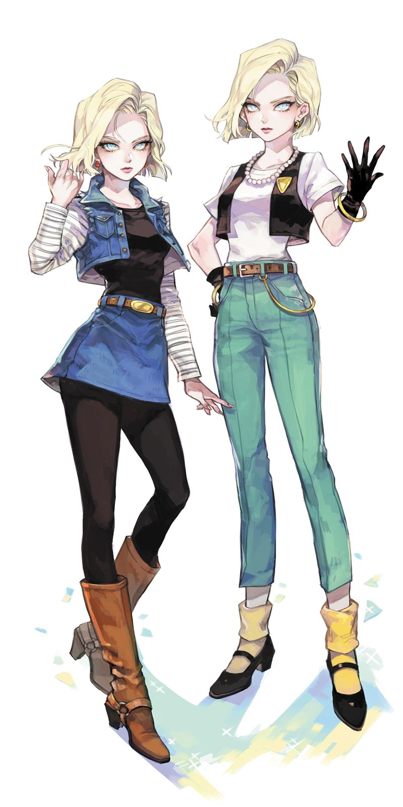 Z Characters Anime : Dragon ball android things to wear pinterest